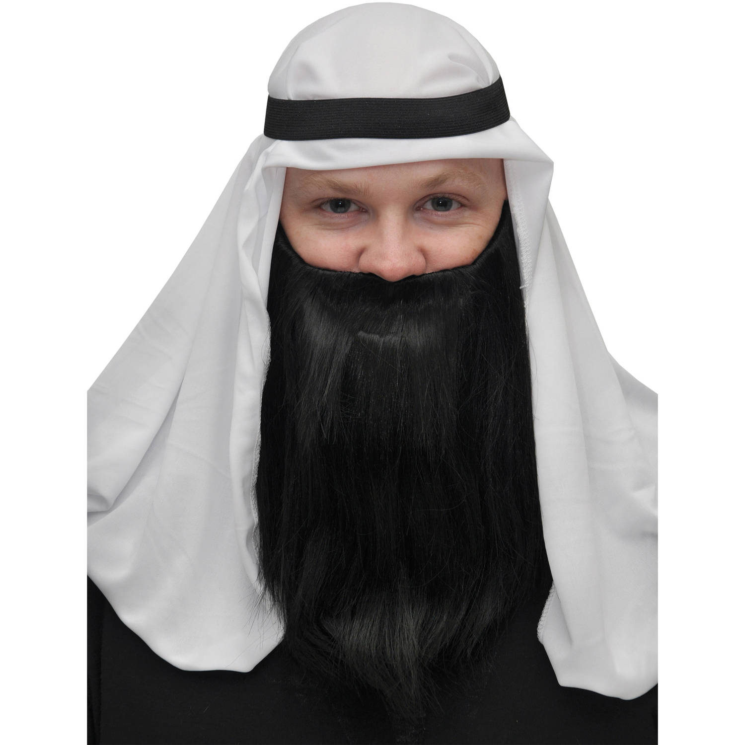 Full Beard and Mustache Adult Halloween Accessory