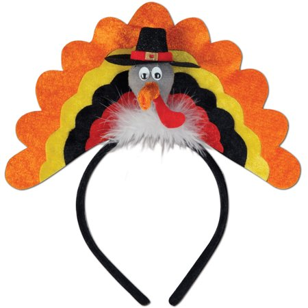Thanksgiving Pilgrim Turkey Headband Costume Accessory