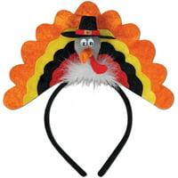 Thanksgiving Pilgrim Turkey Headband Costume Accessory
