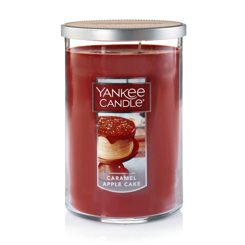 Yankee Candle Large 2-Wick Tumbler Candle, Caramel Apple Cake
