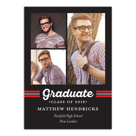 Spirited Grad Graduation Invitation - Vip Lanyard Invitations