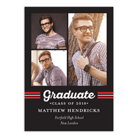 Spirited Grad Graduation Invitation