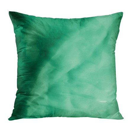 ECCOT Blue Pattern Pale Green Silk It Is Very and Thin Tulle Looks Like Drapery Much Softer Than Wedding Bright Pillowcase Pillow Cover Cushion Case 20x20 inch - How Much Is Tulle