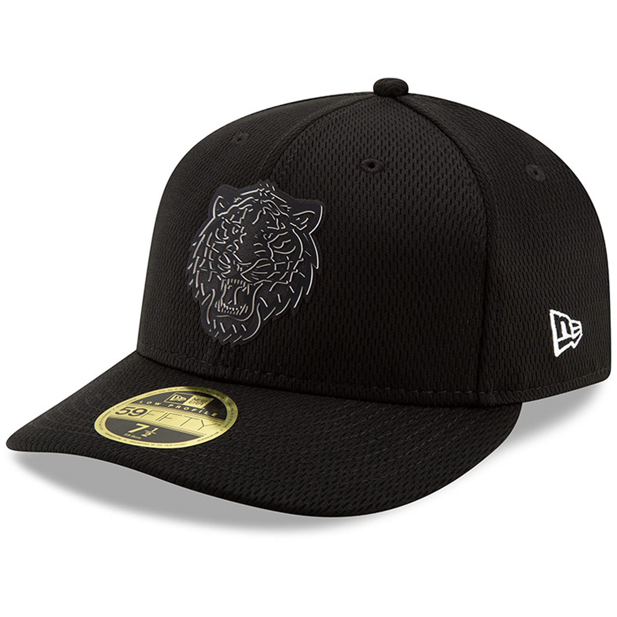 Detroit Tigers New Era Clubhouse Collection Low Profile 59FIFTY Fitted Hat - Black