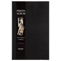 Pinnacle Classic Black Photo Album, Holds 3 photos per page