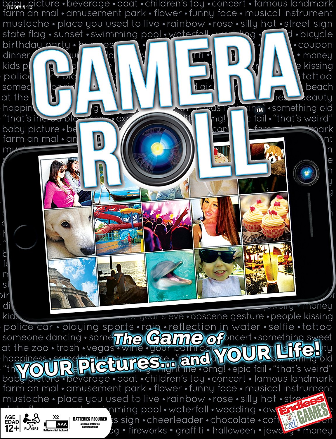 Camera Roll-The Game of Your Pictures and Your Life Action Game, Every player is involved in every round By... by