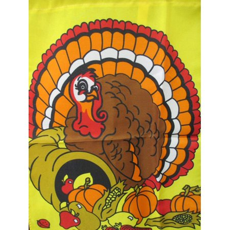 Turkey Cornucopia Thanksgiving Garden
