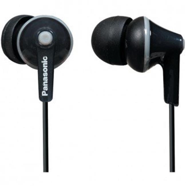 ErgoFit In-Ear Earbuds Black
