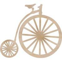 Wood Flourishes-Pennyfarthing Antique Bike With Large Front Wheel