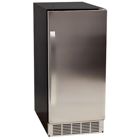 Edgestar ib450ssp 50 pound undercounter clear ice maker for Apartment ice maker