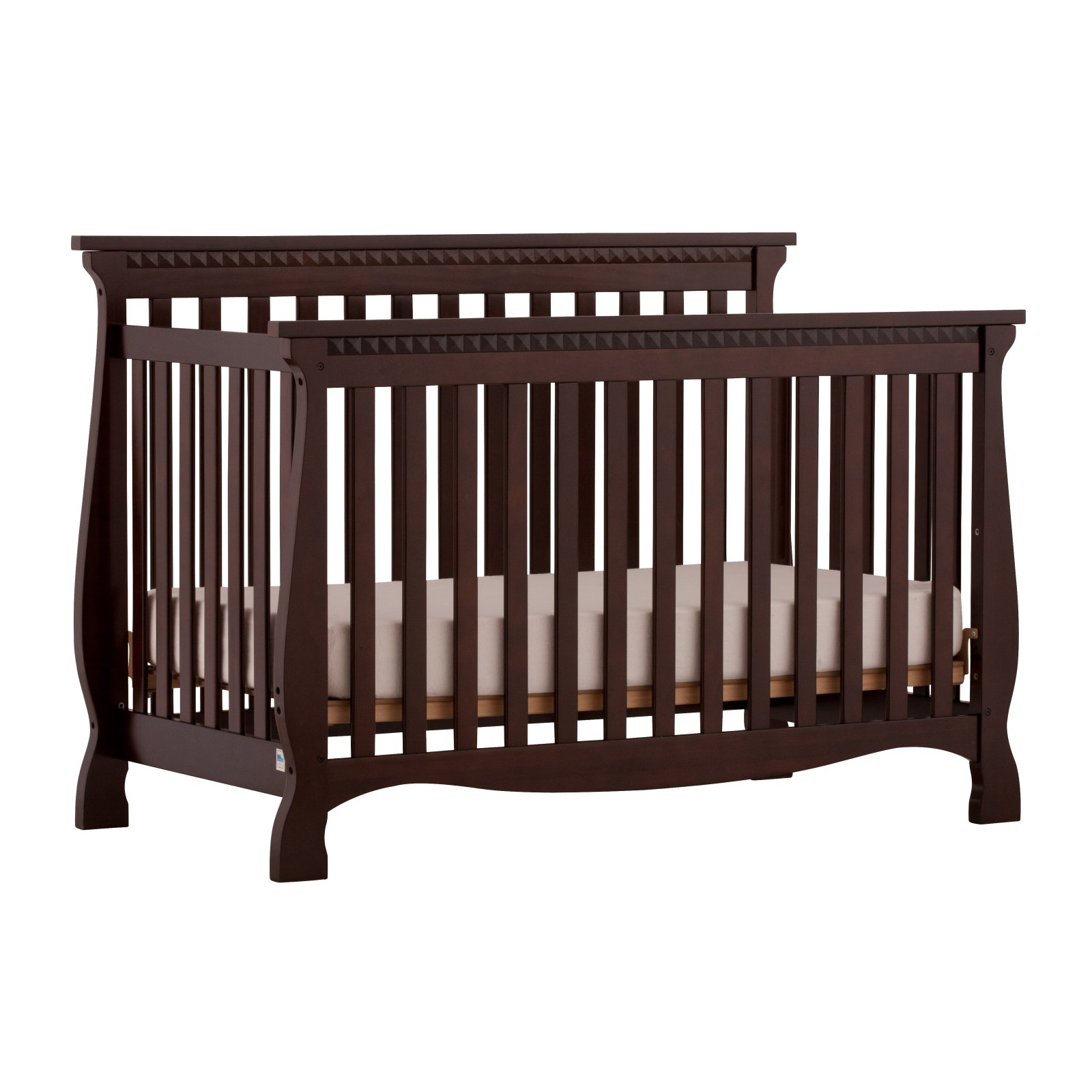 Storkcraft Venetian 4 in 1 Convertible Crib Espresso
