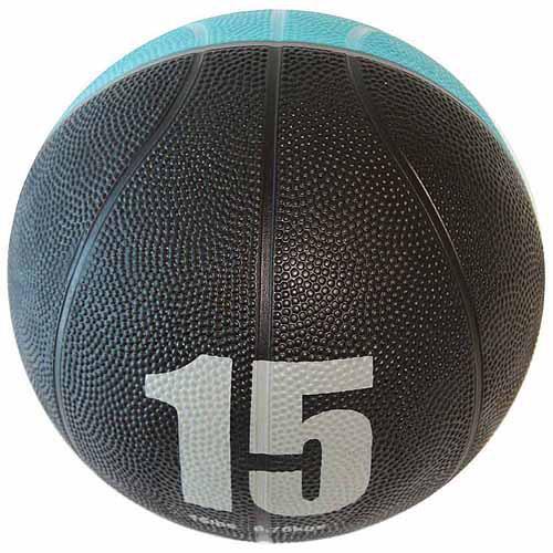 SPIN Fitness Commercial-Grade Medicine Ball, 15 lbs