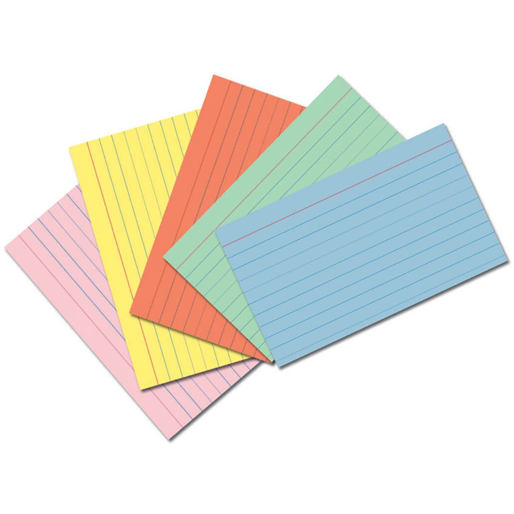 Pacon Index Cards, 75 Card (Quantity)
