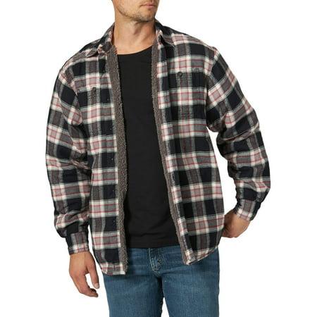 Wrangler Men's Long Sleeve Heavyweight Shirt Jacket