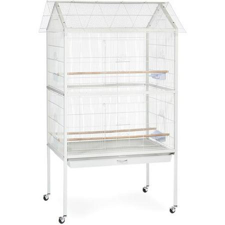 Prevue Pet Products Aviary Flight Cage, - Corner Aviary