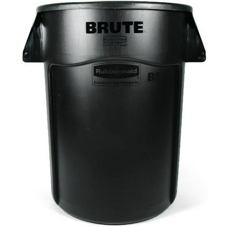 Rubbermaid Commercial Products BRUTE Round Container, 44-Gallon, Gray