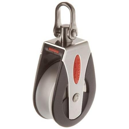 Pulley Shackle - RONSTAN RF51100 Series 50 AP Block Universal Head Single Pulley, 3310 Lbs Load Capacity, 2