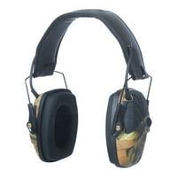Howard Leight Impact Sport Electronic Hearing Protection Earmuffs, Camo