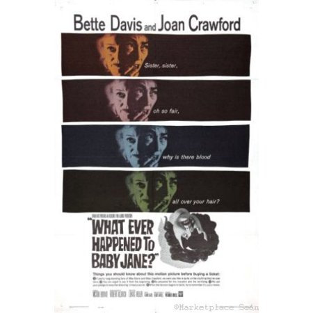Whatever Happened To Baby Jane Movie Poster 11x17 Mini Poster ships in mail/gift tube ()