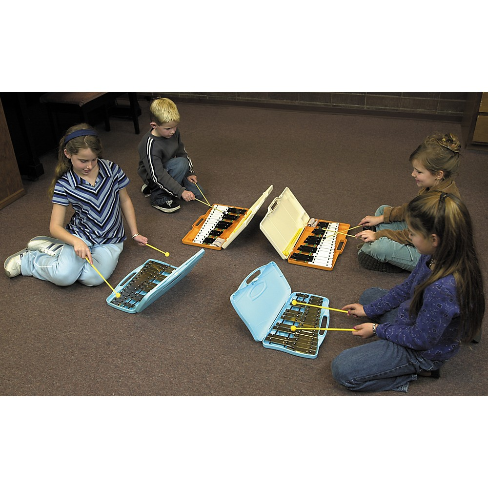 Lyons 25-Note Xylophone with Case Glockenspiel