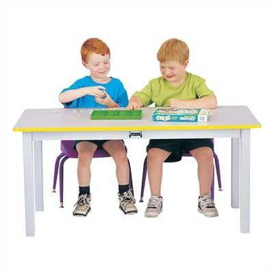 Jonti-craft Large Rectangle Table-Color:20,Height:Purple