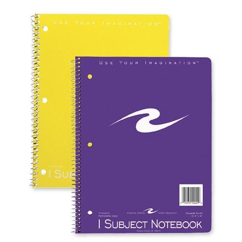1-Subject Spiralbound notebook