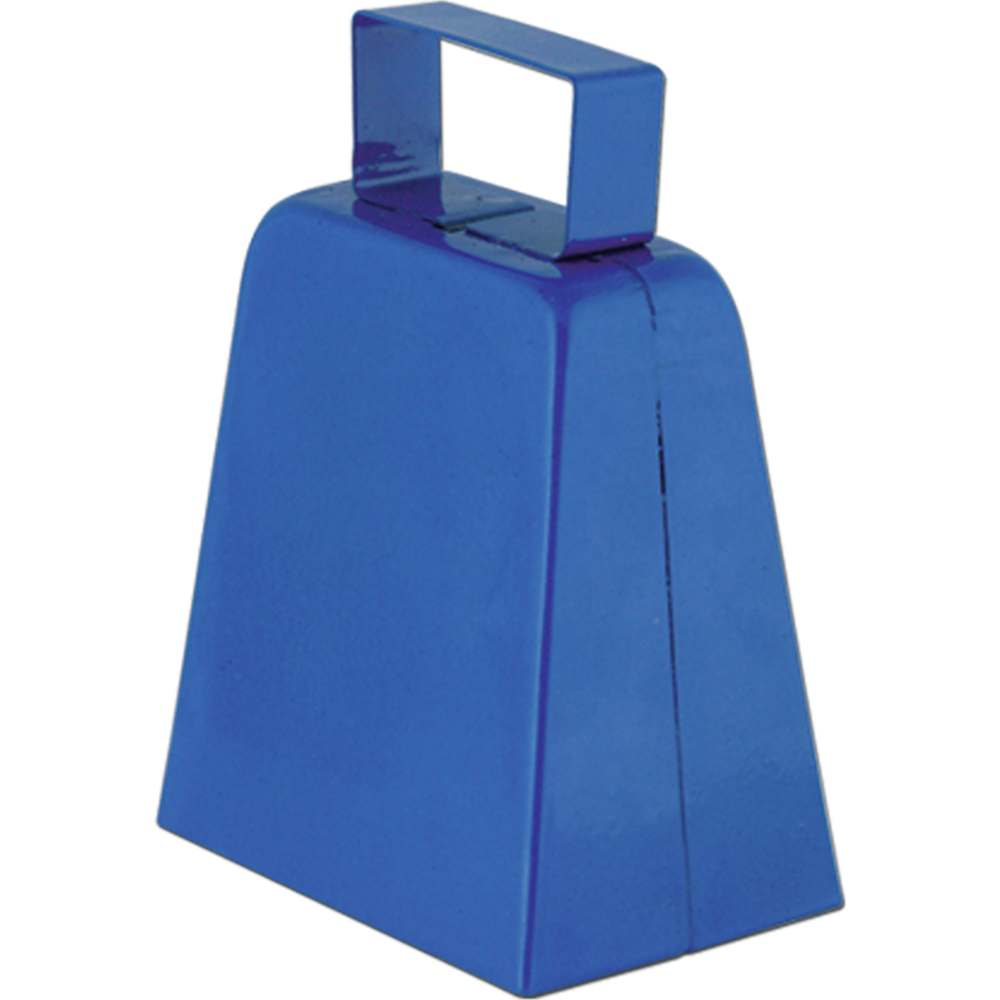 Blue Cowbell Noisemaker by Beistle Co