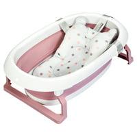 Costway Folding Baby Bathtub Newborn