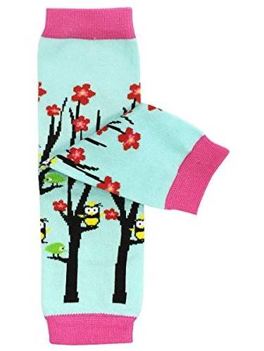ALLYDREW Funky Prints & Patterns Baby Leg Warmer & Toddler Leg Warmer for Boys & Girls, Hooty Hoot Owl