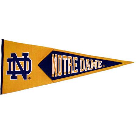 Notre Dame Interlock Classic Pennant
