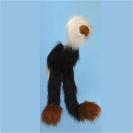 38 In. Large Marionette, Black Bald Eagle - image 1 de 1