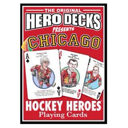 Chicago Hawks Hockey Playing Cards By Channel Craft (Hockey Crafts)