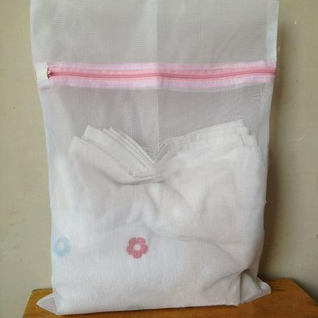 Mosunx Underwear Aid Bra Socks Lingerie Laundry Washing Machine Mesh Bag M