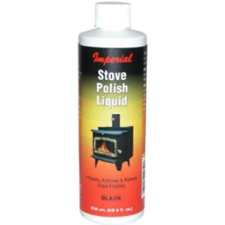 5PK 8 OZ Black Stove Polish For Black Steel & Cast Iron Surfaces ()