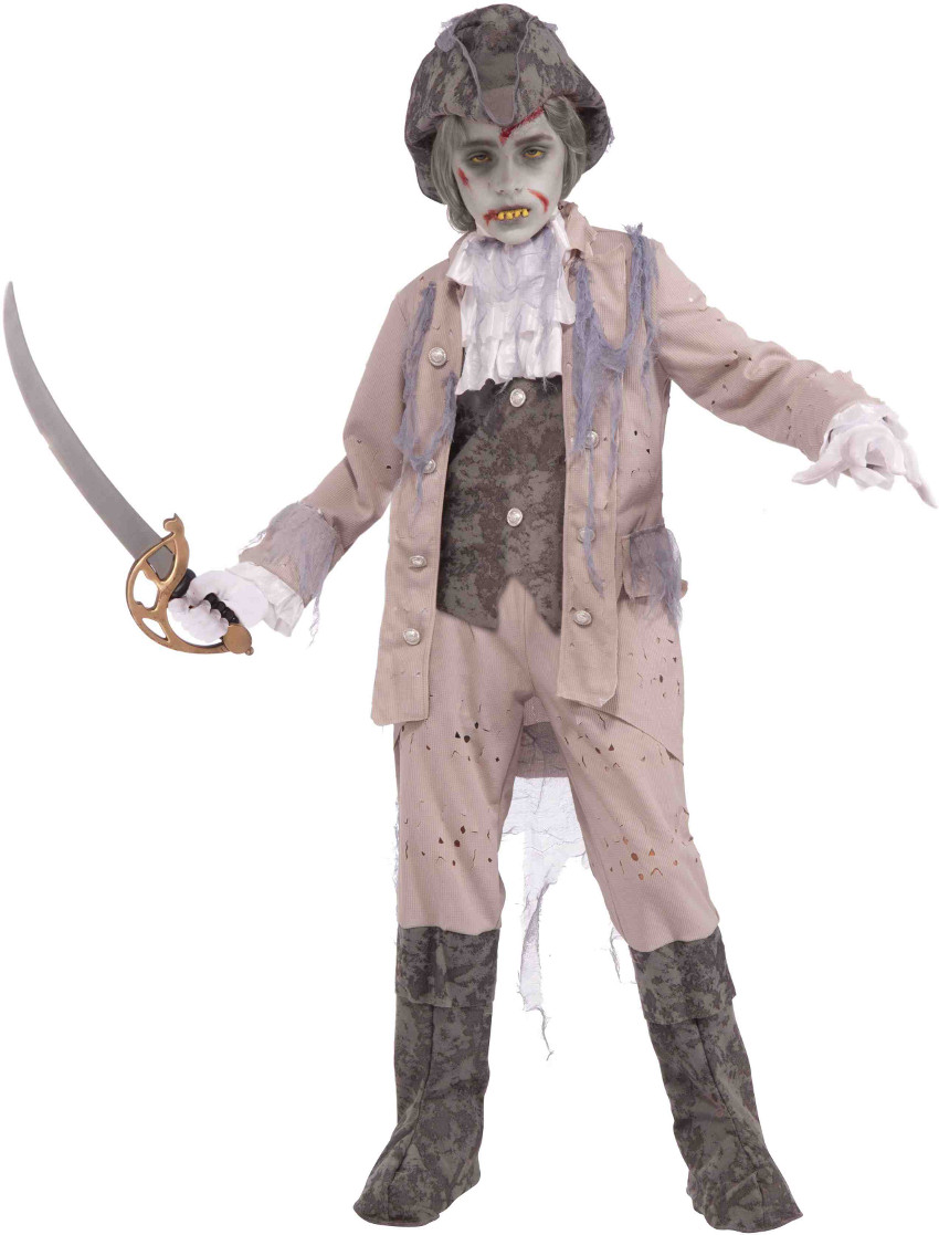 Child Undead Zombie Pirate Captain Costume by Forum Novelties