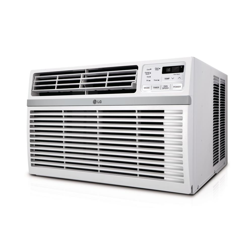 LG 18,000 BTU Window Air Conditioner with Remote and ENERGY STAR, 230/208-Volt, Factory Reconditioned