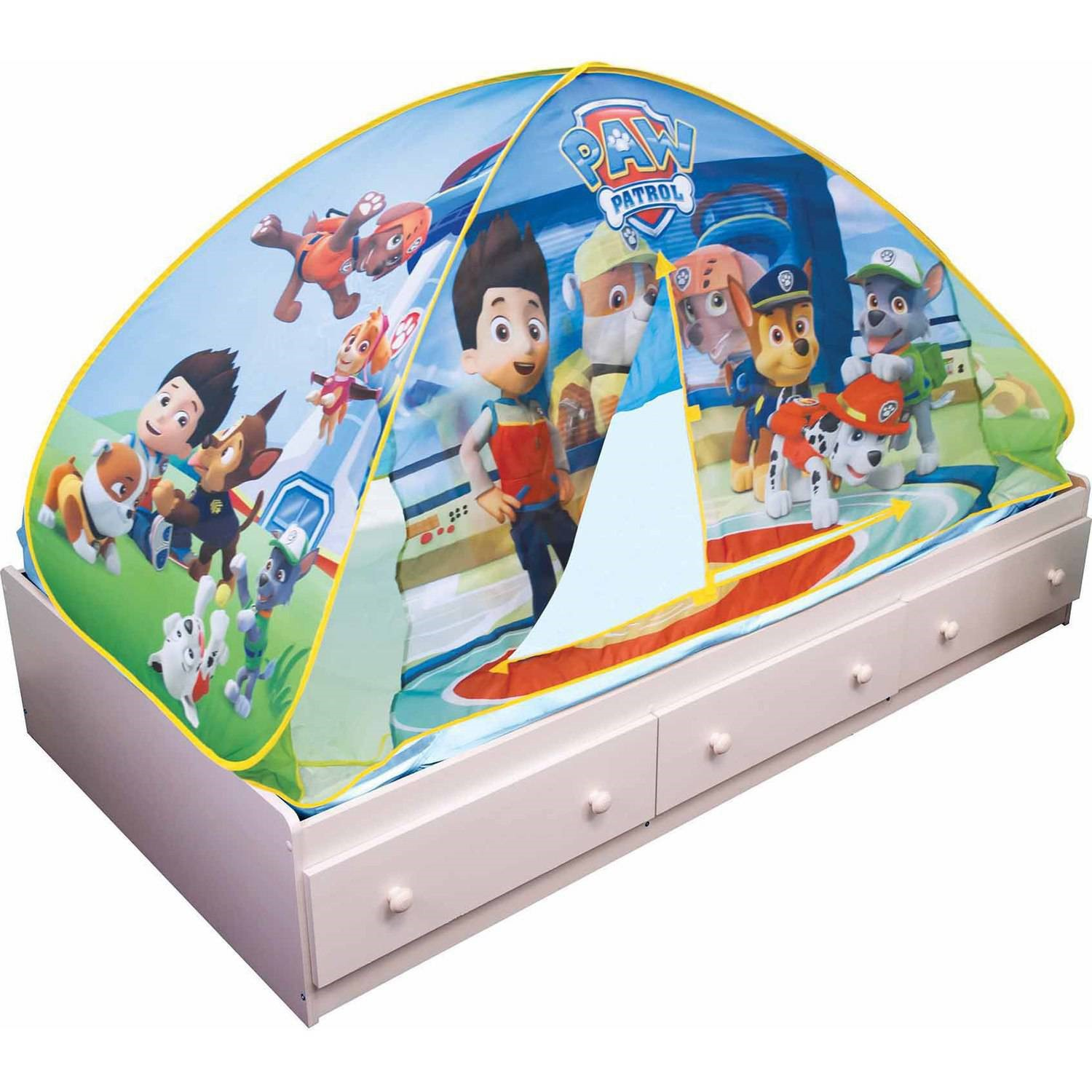 Playhut Nickelodeon Paw Patrol 2-in-1 Tent  sc 1 st  Walmart.com : playhut pop up tent - memphite.com