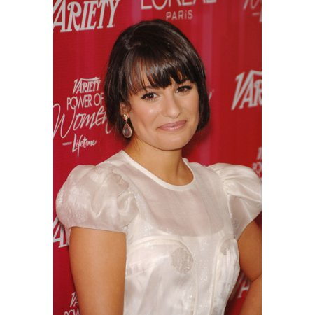 Lea Michele At Arrivals For Varietys 3Rd Annual Power Of Women Luncheon Canvas Art     16 X 20