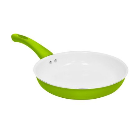 Alpine cuisine kagp fp95 ceramic nonstick aluminum fry pan for Alpine cuisine ceramic cookware