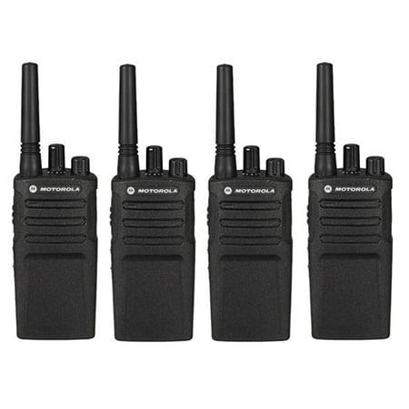 motorola rmu2080 4 pack two way radio walkie talkie. Black Bedroom Furniture Sets. Home Design Ideas