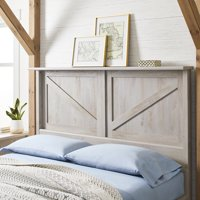 Better Homes & Gardens Modern Farmhouse Headboard, Multiple Sizes and Finishes