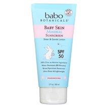 Sunscreen & Tanning: Babo Botanicals Baby