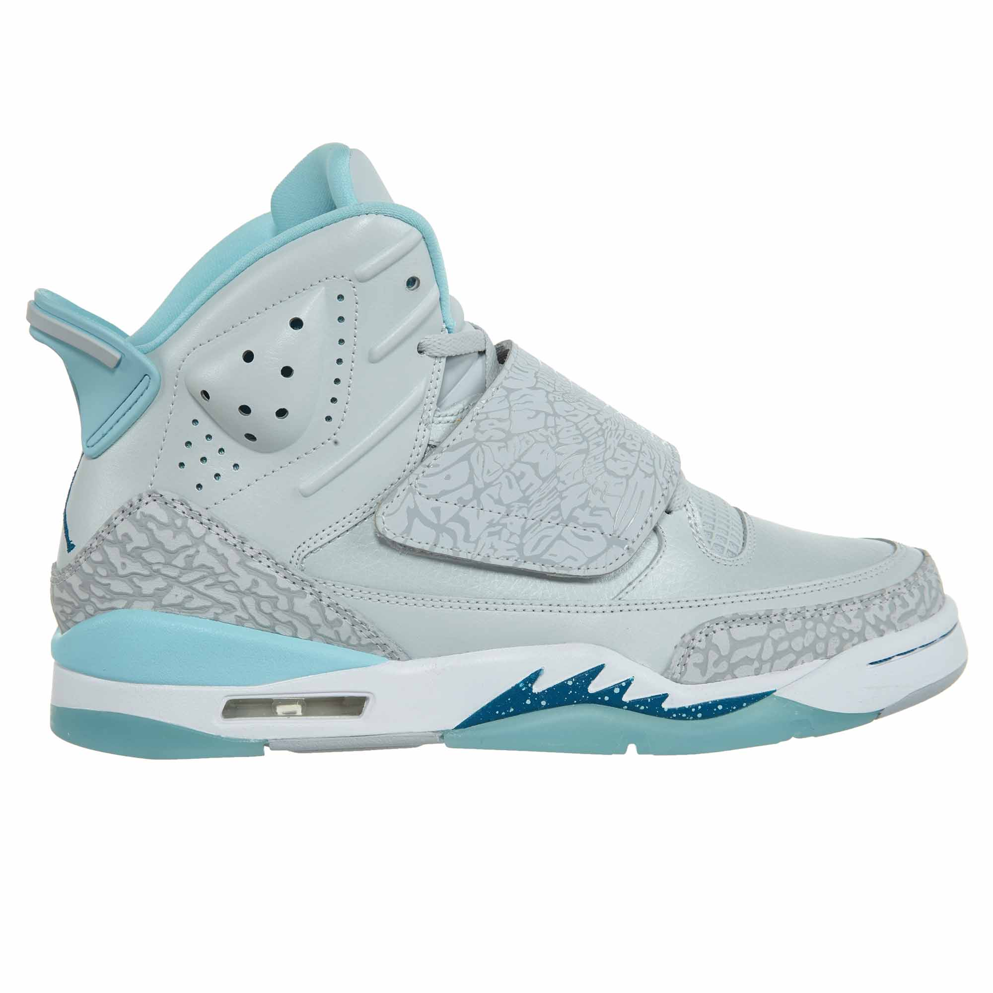 d9a06315f3aed6 ... coupon kids air jordan son of mars gs pure platinum green abyss steel  blue 51 walmart