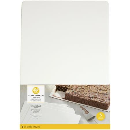 Coated Cake Board (Wilton 13 x 19-Inch White Cake Boards,)