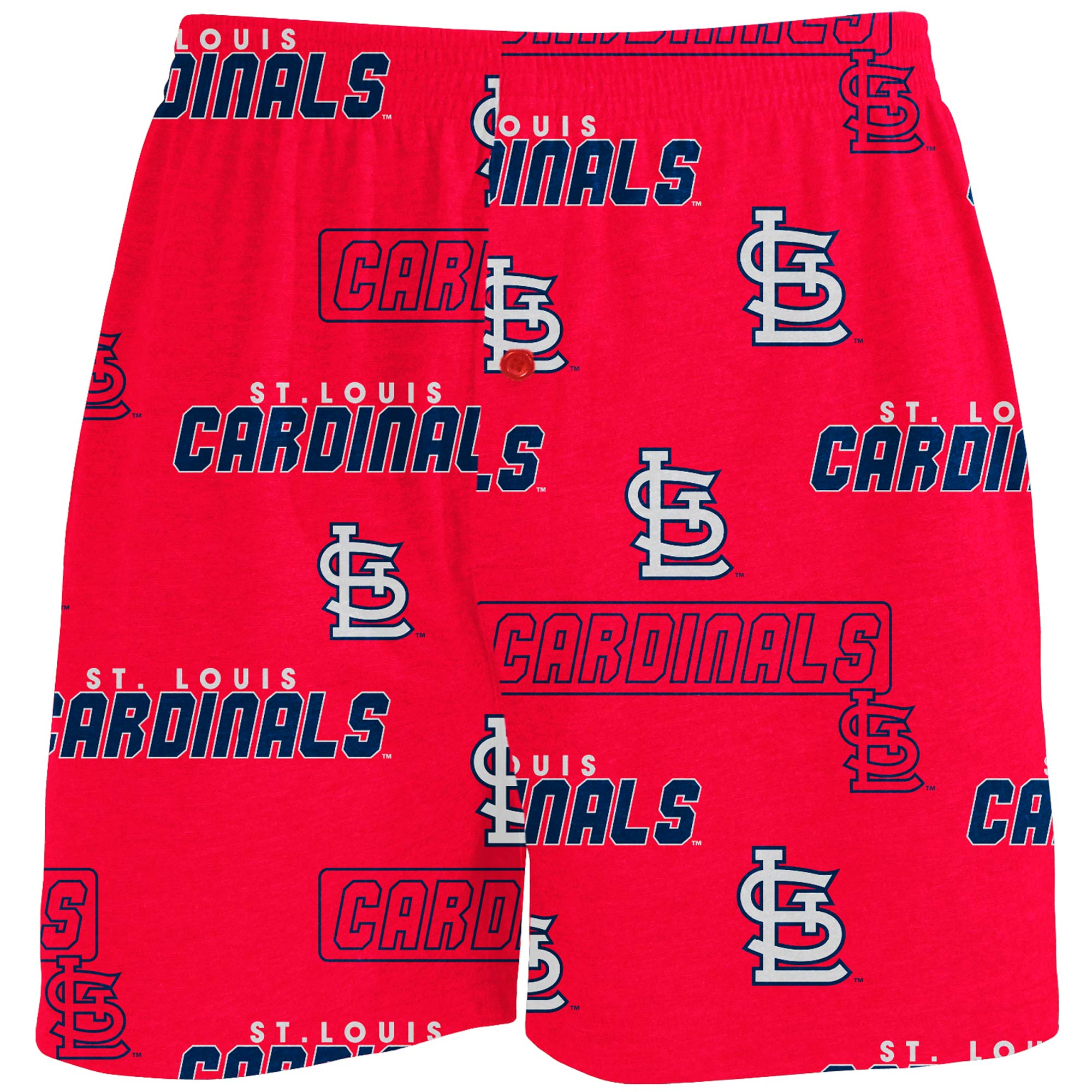 St. Louis Cardinals Concepts Sport Slide Knit Boxers - Red