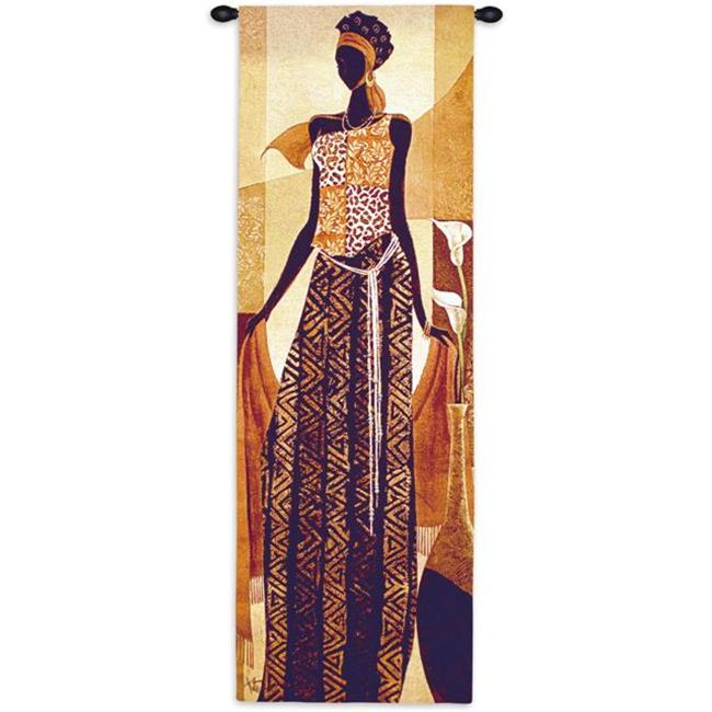 Fine Art Tapestries 5797-WH Malaika Wall Tapestry