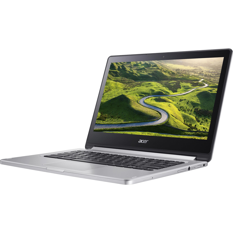 "Acer Chromebook R13 CB5-312T-K95W Convertible Laptop, MediaTek MT8173C Quad-Core Processor, 13.3"" Full HD Touchscreen, 4GB LPDDR3, 64GB eMMC"