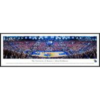 "Kansas Jayhawks 40.25"" x 13.75"" Allen Fieldhouse Standard Framed Panoramic Photo - No Size"