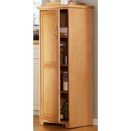 Kitchen Shelves Walmart: Mainstays Kitchen Pantry