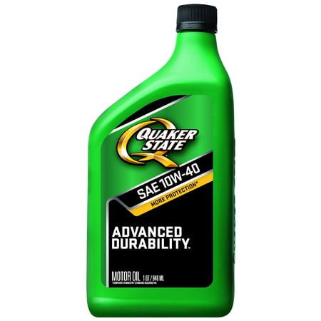 Quaker State Advanced Durability 10W 40 Conventional Motor Oil  1 Qt
